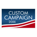 Create Your Own Election Design Business Cards