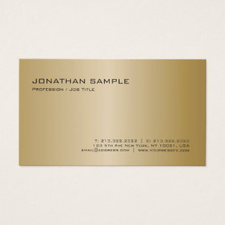 Create Your Own Elegant Modern Professional Plain Business Card