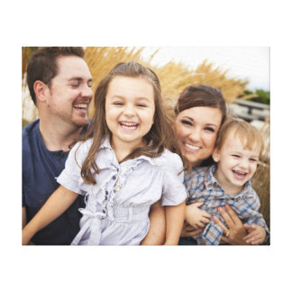 Create Your Own Family Photo Stretched Canvas Prints