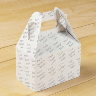 Create Your Own Favour Boxes