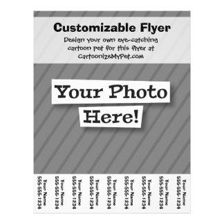 Create Your Own 21.5 Cm X 28 Cm Flyer