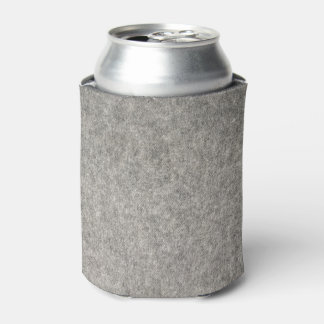 Create your own | Furry grey fabric Can Cooler