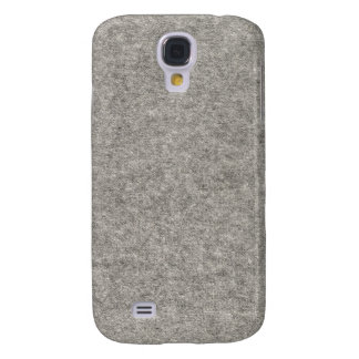 Create your own | Furry grey fabric Galaxy S4 Cases