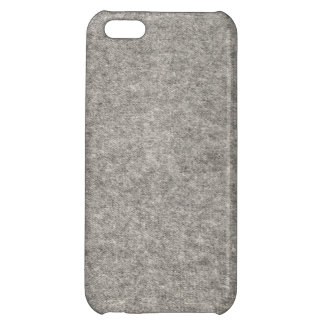 Create your own   Furry grey fabric iPhone 5C Cover