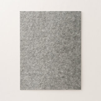 Create your own | Furry grey fabric Jigsaw Puzzle