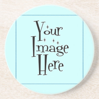 ♪♫♪ Create Your Own Gifts ~ Customize Blank Sandstone Coaster
