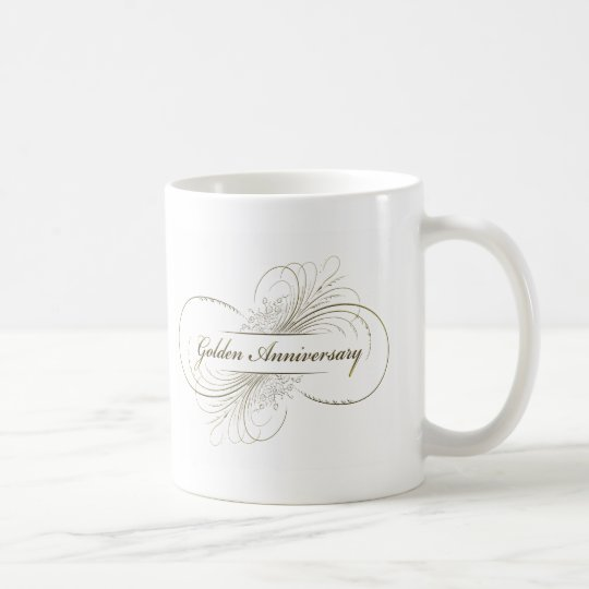 Create Your Own Golden Anniversary Design Coffee Mug