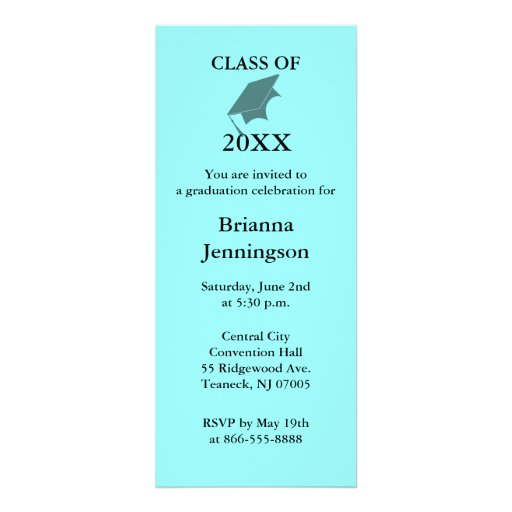 Create Your Own Graduation Invitations and get inspiration to create nice invitation ideas