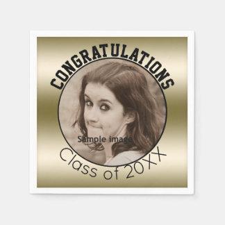 Create Your Own Graduation | Personalized Photo Disposable Serviette