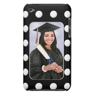 Create Your Own Graduation Photo With Polka Dots iPod Touch Case