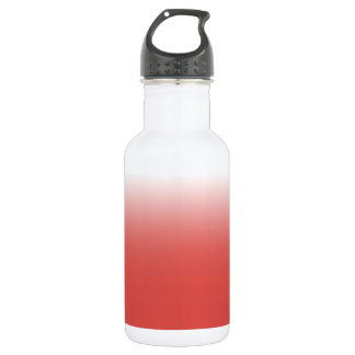Create your own | grenadine to white 532 ml water bottle