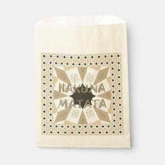 Create Your Own Hakuna Matata Favour Bag