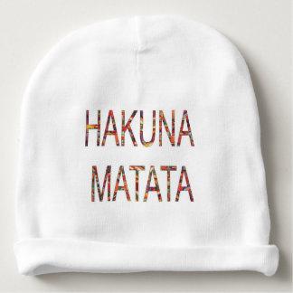Create Your Own Hakuna Matata No Problem Baby Beanie