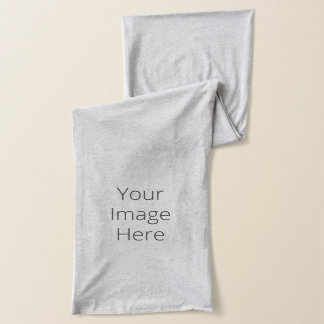 Create Your Own Heather Grey Jersey Scarf