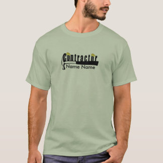 Create Your  Own Home Builder Contractor T-Shirt