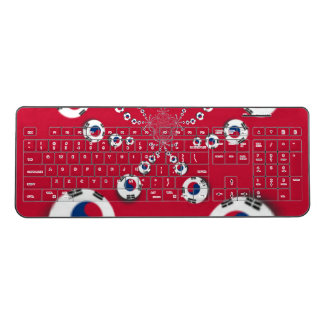 Create Your Own I love South Korea Wireless Keyboard