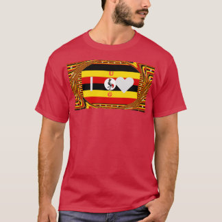 Create Your Own Inspiring lovely  I Love You U G T-Shirt
