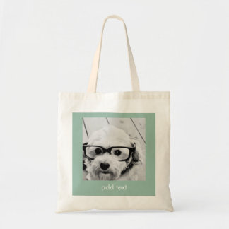 Create Your Own Instagram Art Budget Tote Bag