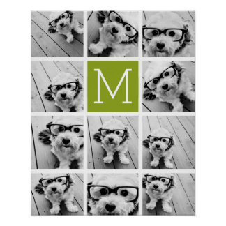 Create Your Own Instagram Photo Collage Lime Posters