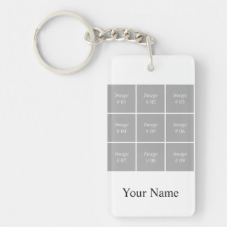 Create your own Instagram photo collection Key Ring