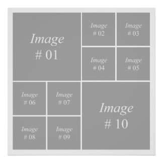 Create your own Instagram photo collection Poster
