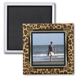 Create Your Own Instagram Photo | Leopard Spots Magnet