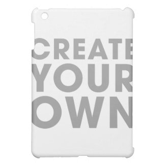 Create Your Own iPad Mini Case