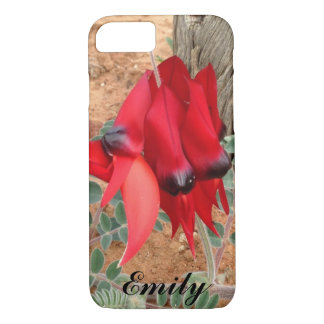 Create your own iPhone 7 case - Sturt's Desert Pea