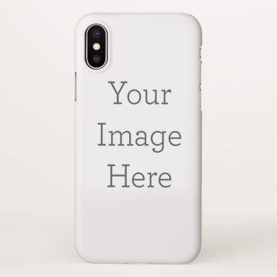 competitive price 0ce9a 83082 Custom iPhone X Glossy Case