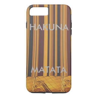 Create your own Kenya Giraffe Hakuna Matata iPhone 7 Plus Case