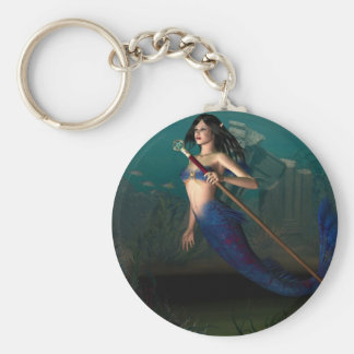 Create Your Own Keychain! Basic Round Button Key Ring