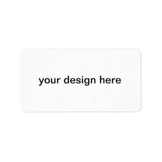 create your own labels
