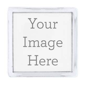 Create Your Own Lapel Pin Silver Finish Lapel Pin