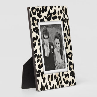 Create-Your-Own Leopard Print Photo Frame Plaque