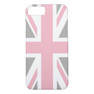 Create Your Own Light Pink Union Jack iPhone 8/7 Case