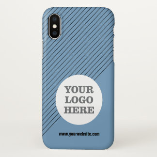 Create Your Own Logo iPhone X Case