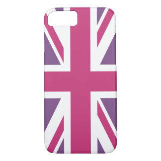 Create Your Own Magenta Union Jack iPhone 8/7 Case