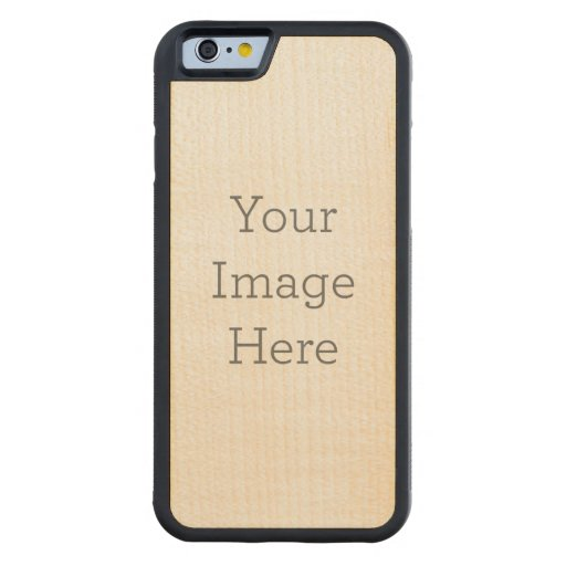 Create Your Own Maple iPhone 6 Case Carved® Maple iPhone 6 Bumper Case