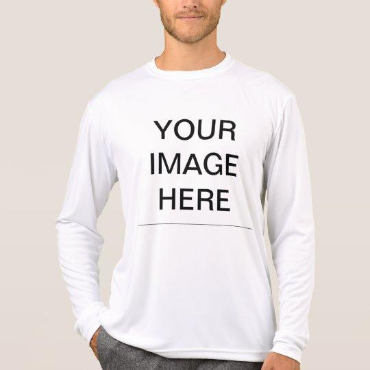 Create your own men 39 s sport tek active t shirt zazzle for Design your own athletic shirt