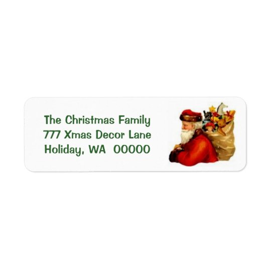 Create Your Own Merry Christmas Label Stickers