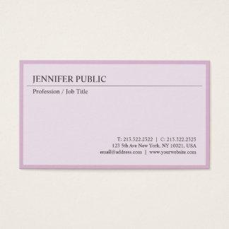 Create Your Own Modern Elegant Design Clean Plain Business Card