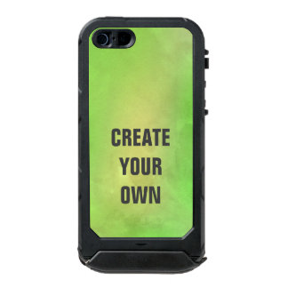 Create Your Own Modern Green Watercolor Painting Incipio ATLAS ID™ iPhone 5 Case