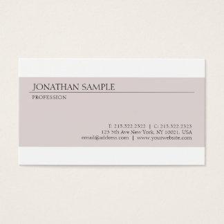 Create Your Own Modern Minimalist Elegant Design Business Card
