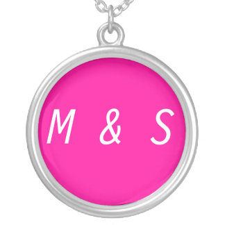 Create Your Own Necklace Change Initials Custom Necklace