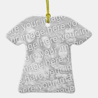 Create Your Own One-Sided Tee Shirt Photo Keepsake Ceramic T-Shirt Decoration
