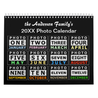 Create Your Own Personalized Custom Photo 2017 Wall Calendar