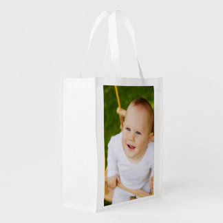 Create Your Own Personalized DIY 2 Sided Reusable Grocery Bag