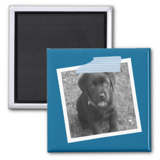 Create Your Own Personalized Photo Square Magnet