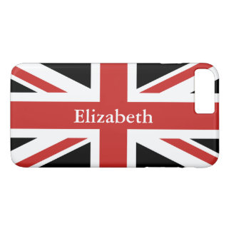 Create Your Own Personalized Red Union Jack iPhone 8 Plus/7 Plus Case