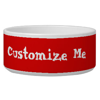 Create Your Own Pet Dish Pet Food Bowls